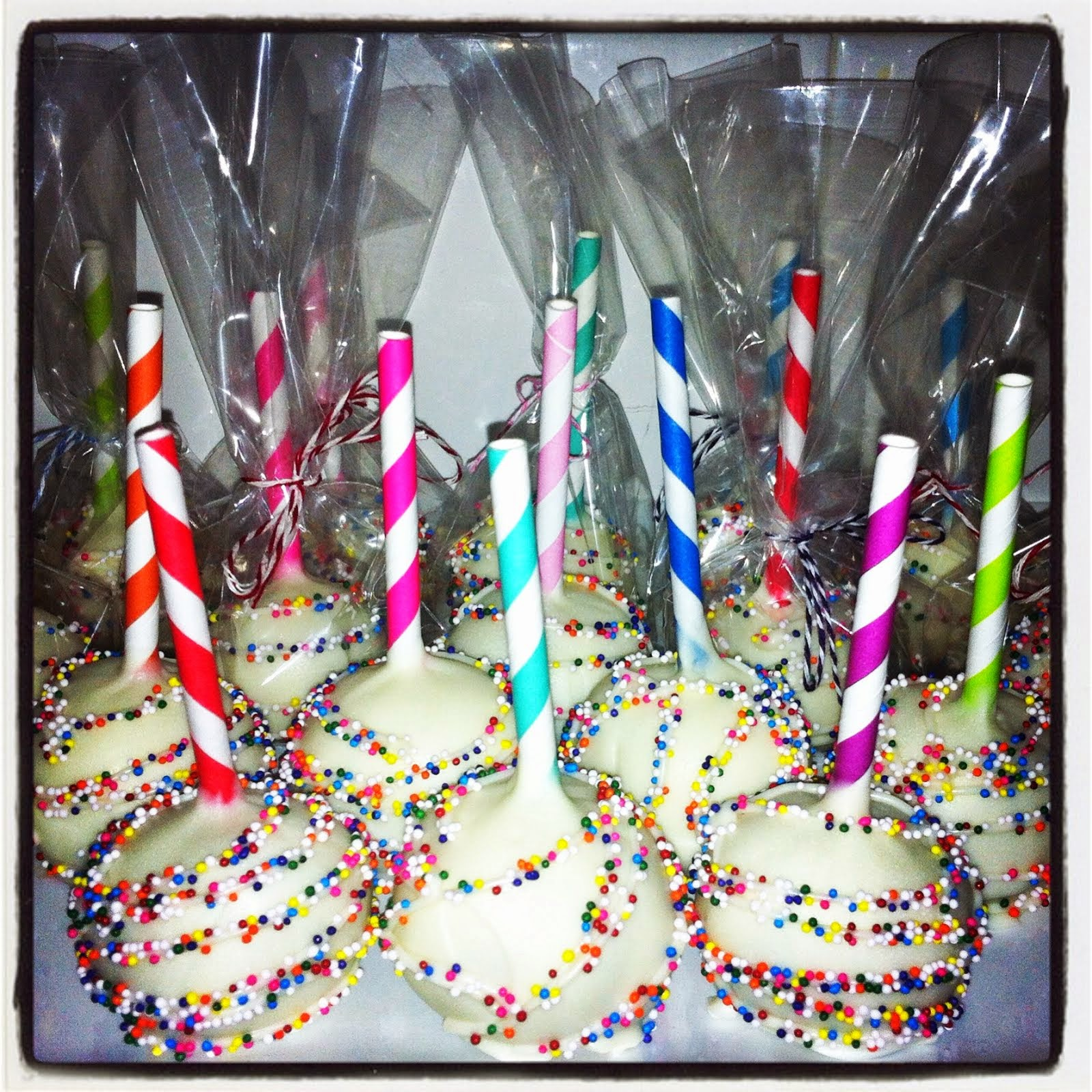BIRTHDAY COOKIE DOUGH POPS