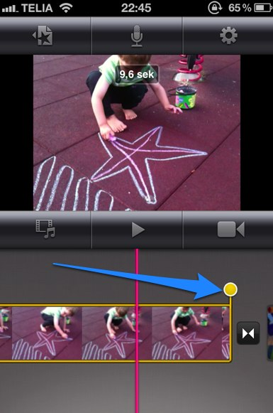how to finish a movie in imovie 13