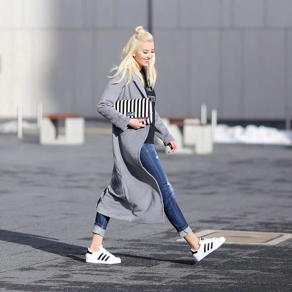 look adidas superstar blancas