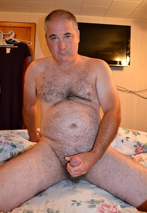 mature single males - furry chest - mature gay dick