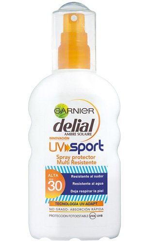 Spray Protector Delial UV Sport FPS-30 Garnier