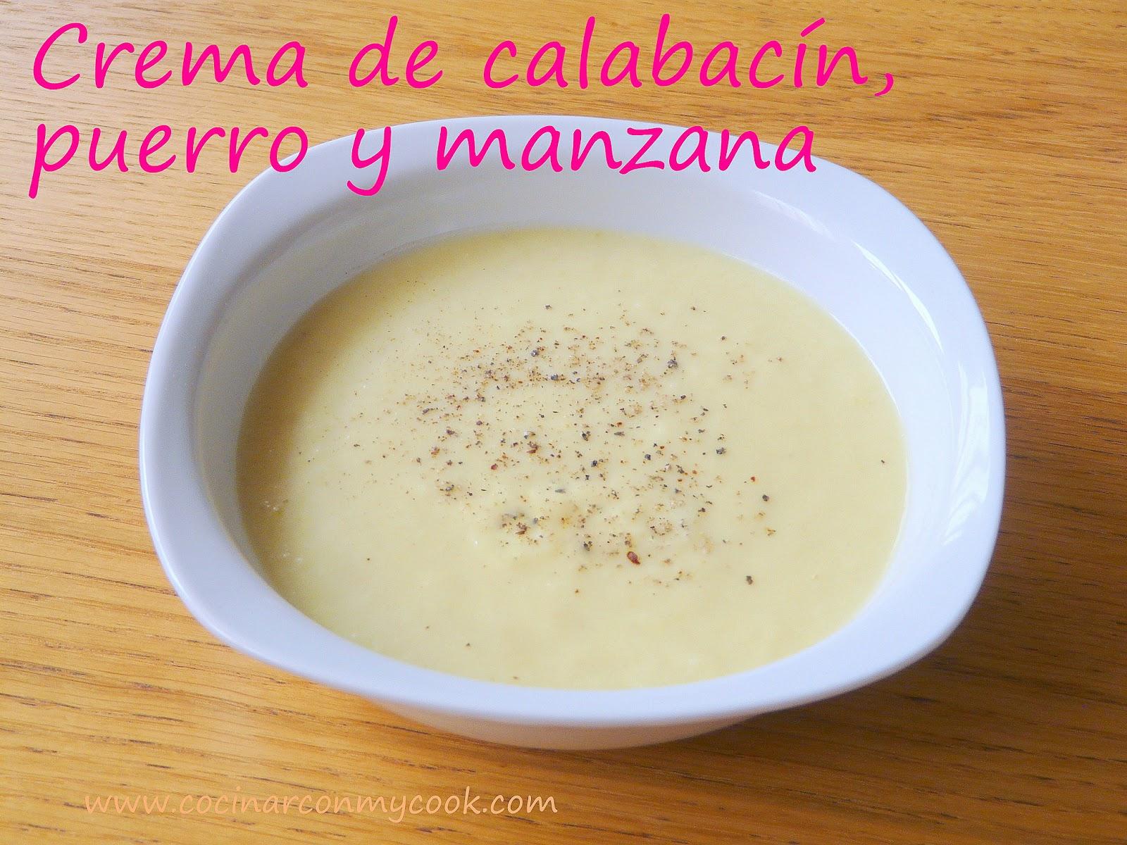 Cocinar Puerro | Cocinar Con Mycook Crema De Calabacin Puerro Y Manzana