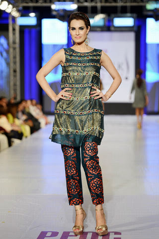 Fashion She9 Nickie Nina Collection 2013-14 at PFDC SFW