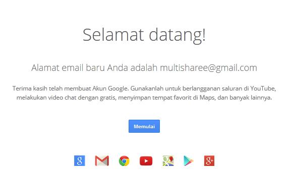Cara Membuat Akun Email Gmail Mudah Terbaru 2014