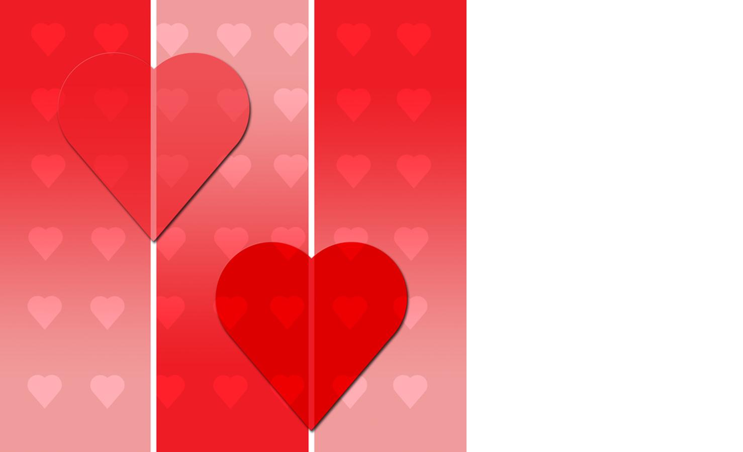 Dárkový poukaz srdce - vzor ke stažení