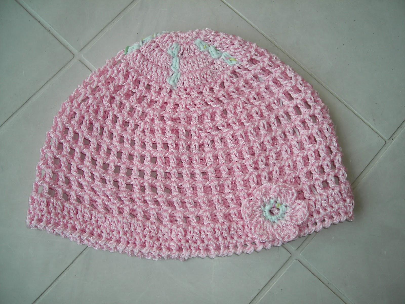 Popolare nuvoledilana & fioridicotone: Cappellino estivo per bimba HU99