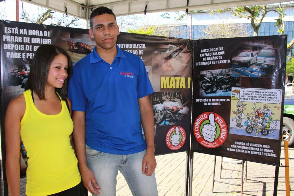 A estudante Camila Gonçalves e o vendedor Denílson Costa aprovaram a iniciativa da Prefeitura