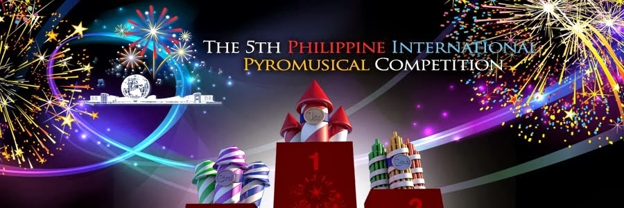 5th Philippine International Pyromusical Competition 2014