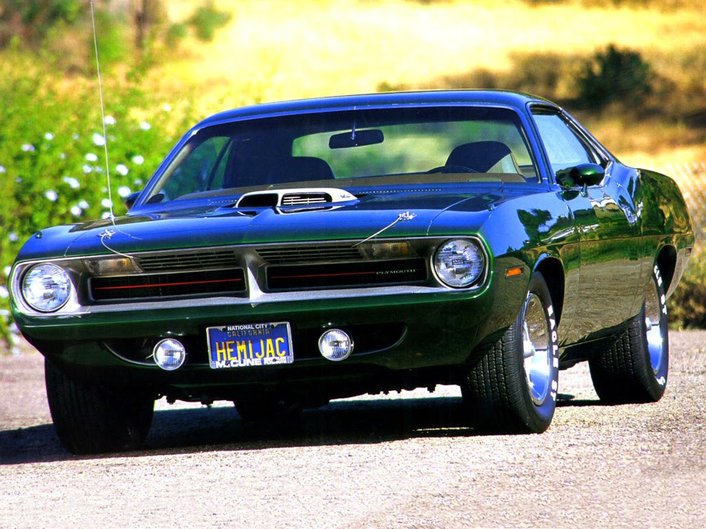 The Best Old Muscle cars 1970 Plymouth Hemi 'Cuda