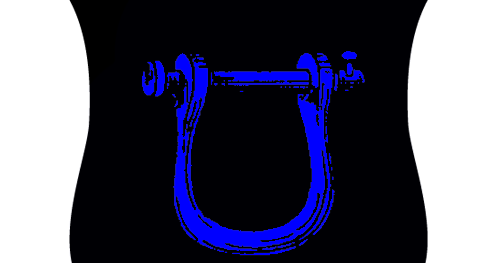 Fetterlock Painted Blue Ivanhoe