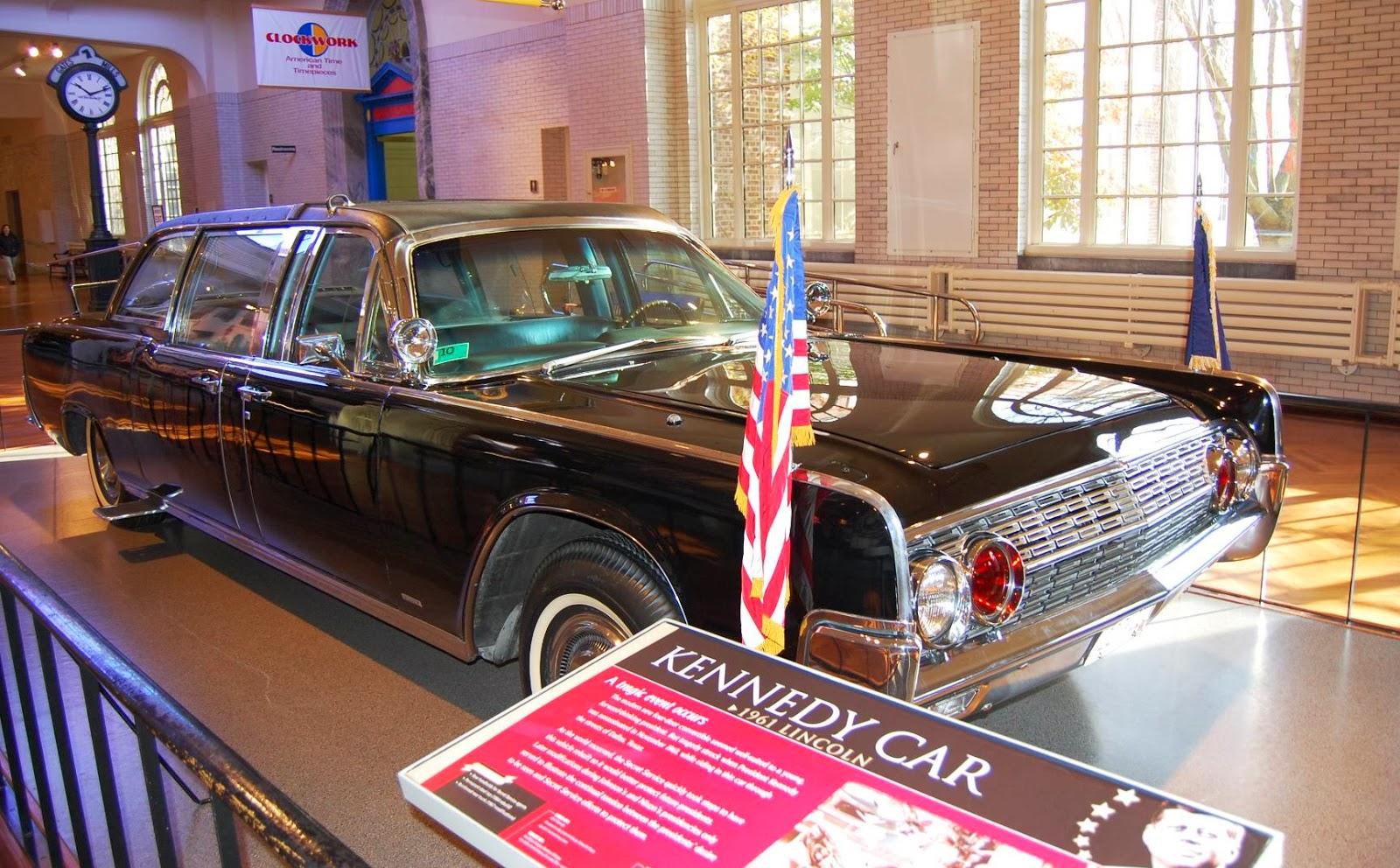 one tank trips president john f kennedy assassination limousine retired at the henry ford. Black Bedroom Furniture Sets. Home Design Ideas