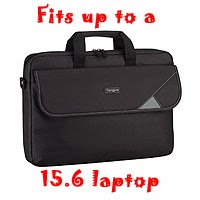 Targus TBT239EU Intellect Topload Laptop Case 15.6 inch - Black