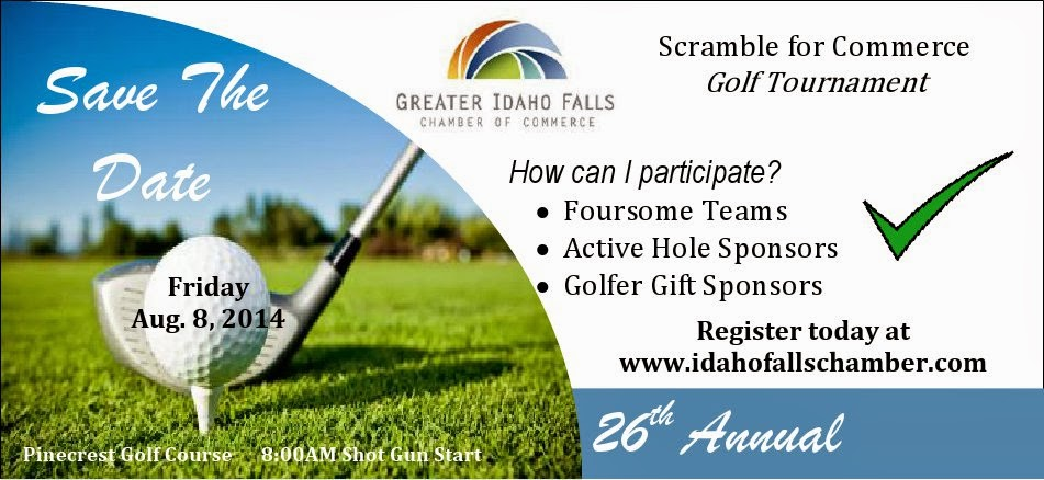 Golf Scramble Aug. 8