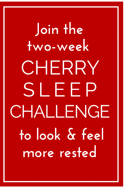 Insomniac or not, studies show cherries can help you sleep better! And who doesn't want more of that? Join this 2-week cherry sleep challenge with these few easy steps to tap here and see if you can look and feel more rested! (TheHealthminded.com) #health #sleep
