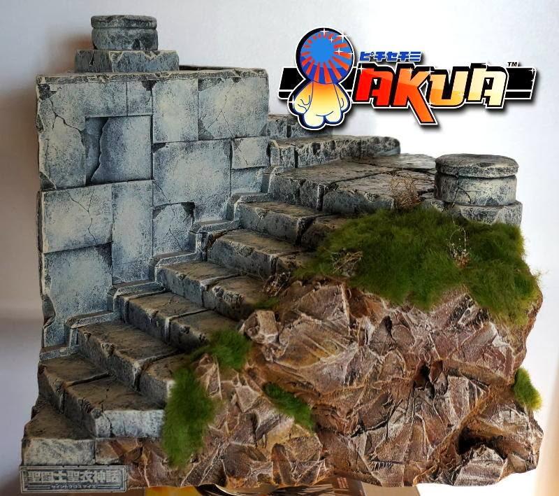 Fen tre sur diorama mont e des marches du sanctuaire par akua - Chelidoine verrue ou en trouver ...