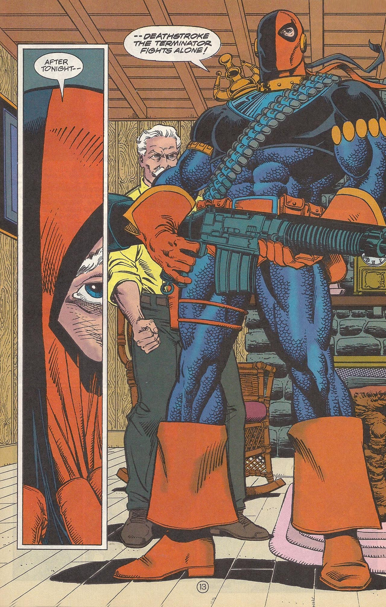Deathstroke (1991) Issue #10 #15 - English 17