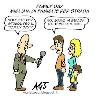 family day satira vignetta