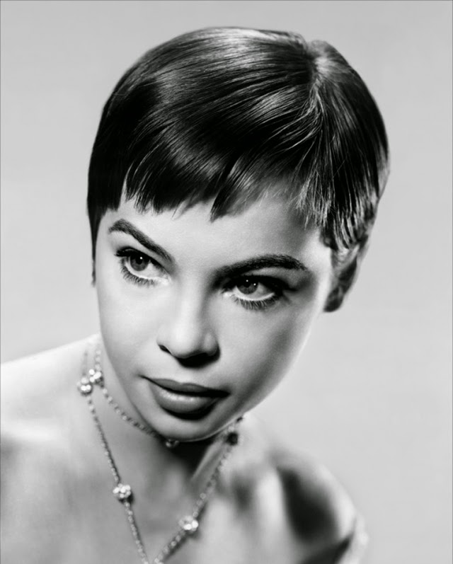 Beautiful Black and White Portraits of Leslie Caron from ...