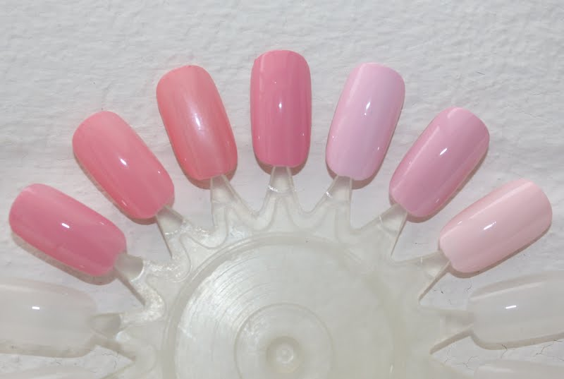 Maria Sparkle: Battle of The Pink Polishes.....................