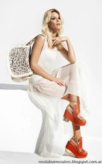 Blaque primavera verano 2014 carteras y zapatos.