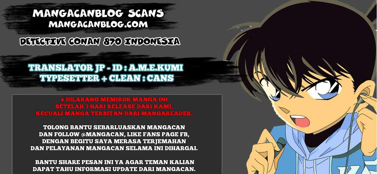 Dilarang COPAS - situs resmi www.mangacanblog.com - Komik detective conan 870 - ketika suatu harapan telah terwujud 871 Indonesia detective conan 870 - ketika suatu harapan telah terwujud Terbaru |Baca Manga Komik Indonesia|Mangacan