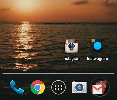 Aplikasi instwogram Cara Pakai Dua Instagram dalam 1 HP Android