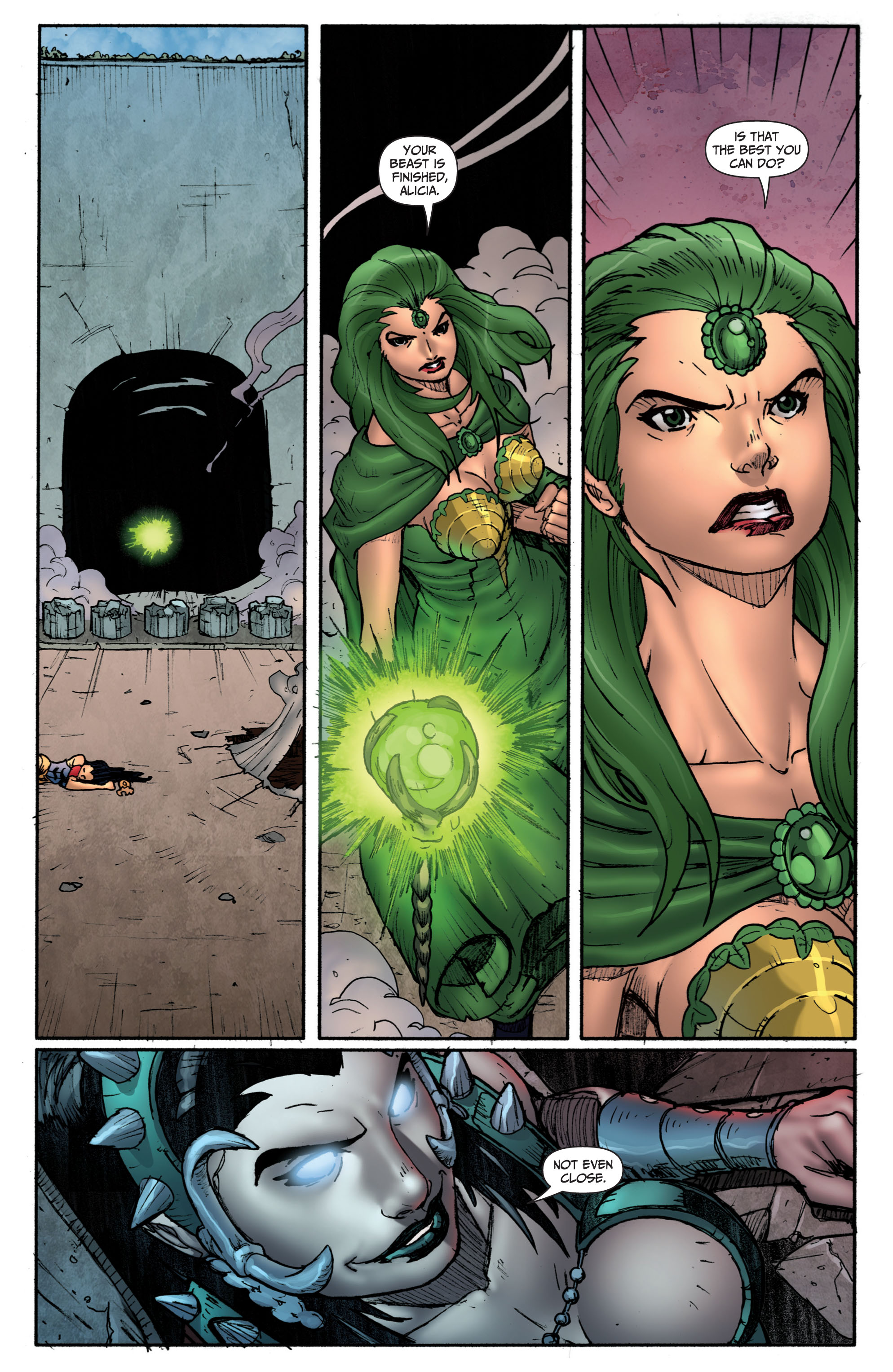 Grimm Fairy Tales (2005) Issue #69 #72 - English 17