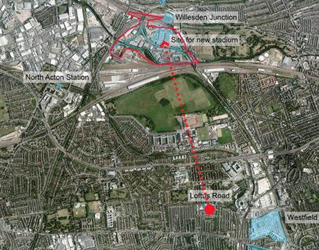 Qpr Stadium ... QPR unveils...