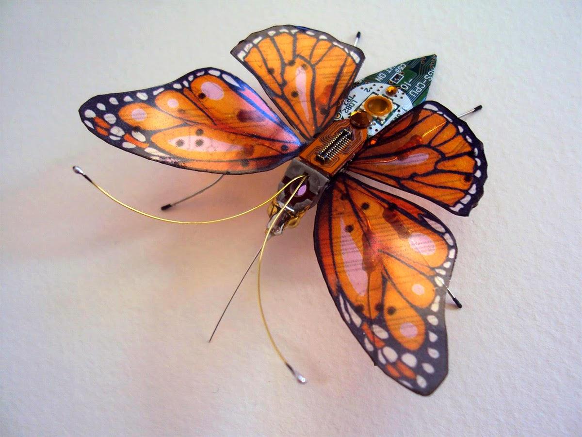 藝術家使昆蟲的翅... - 亮麗 - 亮麗的博客
