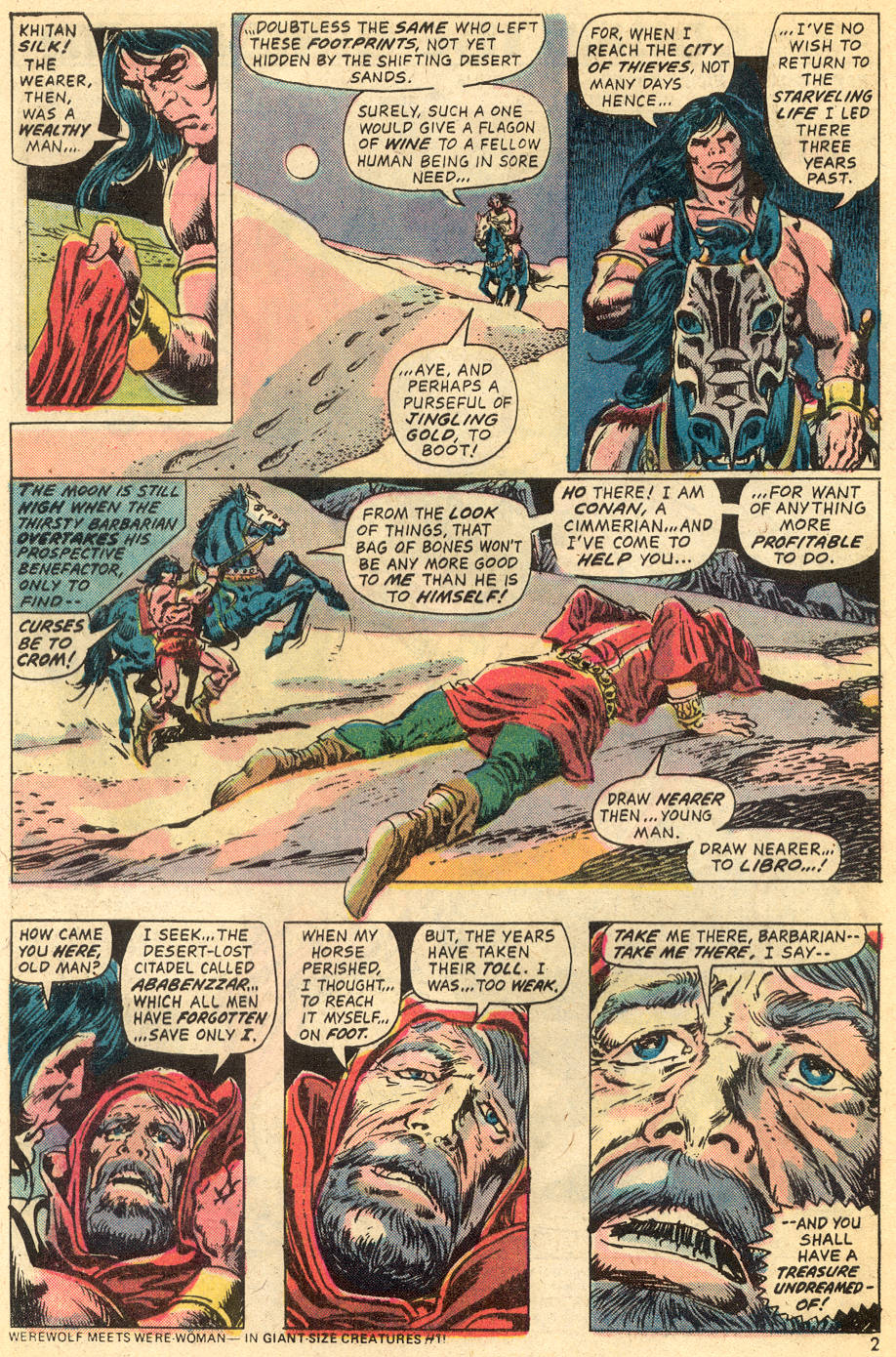 Conan the Barbarian (1970) Issue #40 #52 - English 3