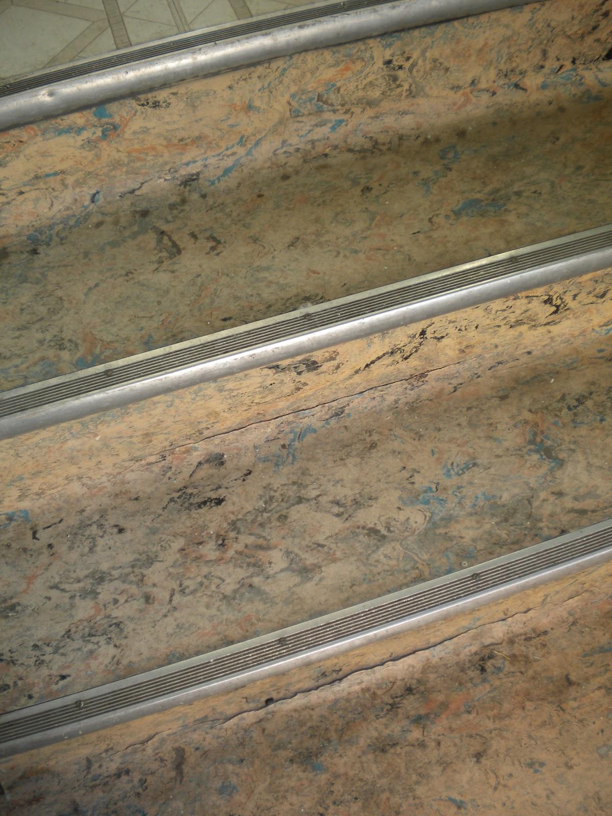 Red gate farm february 2012 for Cool linoleum flooring
