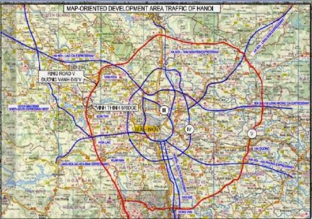 Quy hoạch đường Vành đai 5 đi qua 8 tỉnh, thành phố