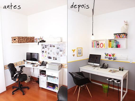 decoracao barata para ambientes pequenos : decoracao barata para ambientes pequenos:certos e com muito de faça-você-mesmo, o escritório/quarto de