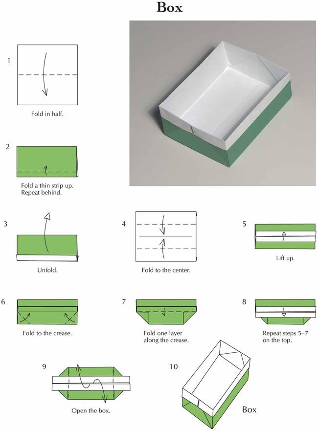how to fold a paper box with a4 paper 28 images image