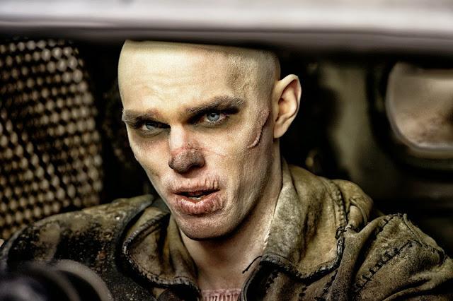 Nicholas Hoult Nux Mad Max 4 Fury Road still