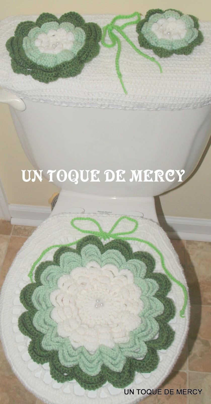 Set De Baño Tejido En Crochet Paso A Paso:UN TOQUE DE MERCY SET PARA EL BANO DE CROCHET
