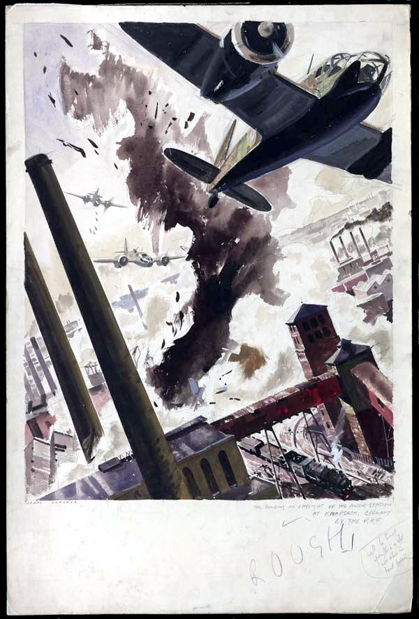 British Blenheim bombers bomb cologne 1941