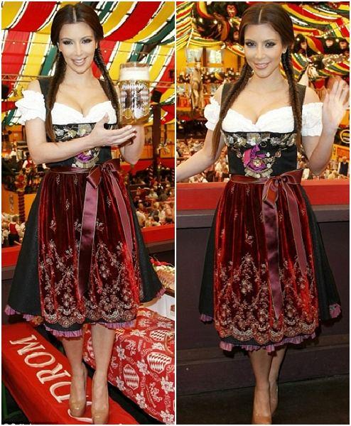 Geburtstag Auf Dem Oktoberfest Kim Kardashian Alem