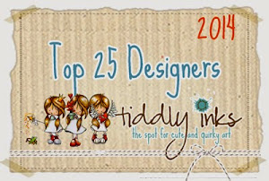 Top 25!! at Tiddly Inks