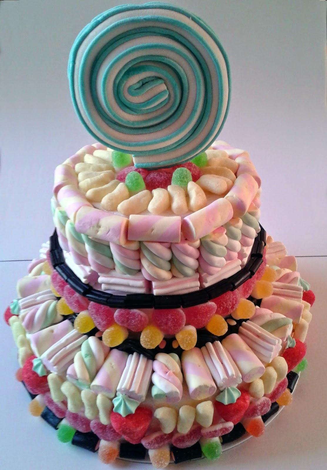 Fior di anna torta di caramelle for Casa di caramelle