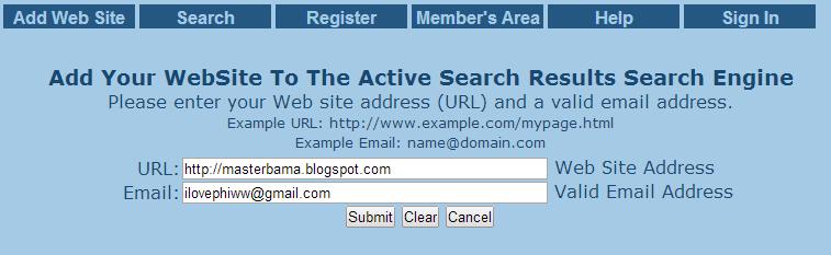 Meningkatkan Rank Alexa Dengan Active Search Results