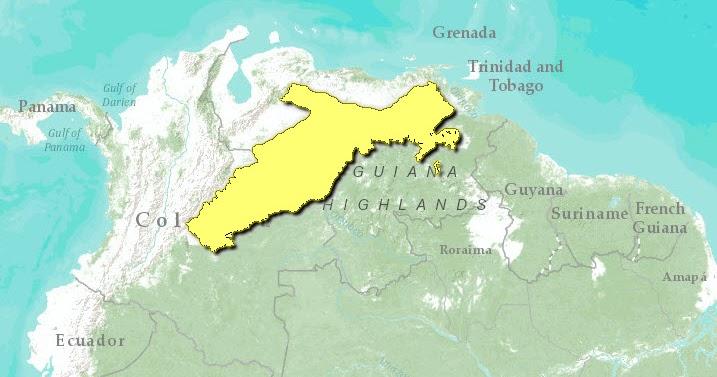 Llanos Map