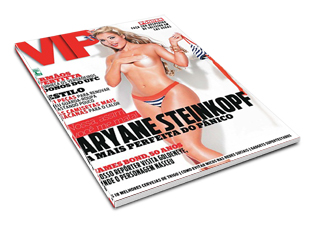Revista VIP Aryane Steinkopf Fevereiro 2012