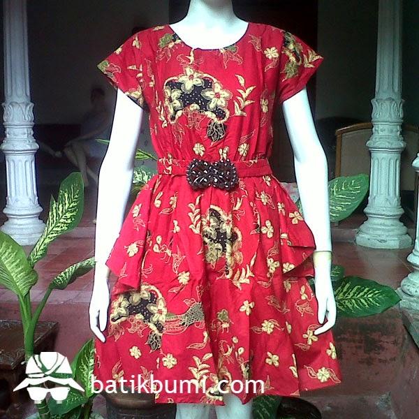 dress batik imlek
