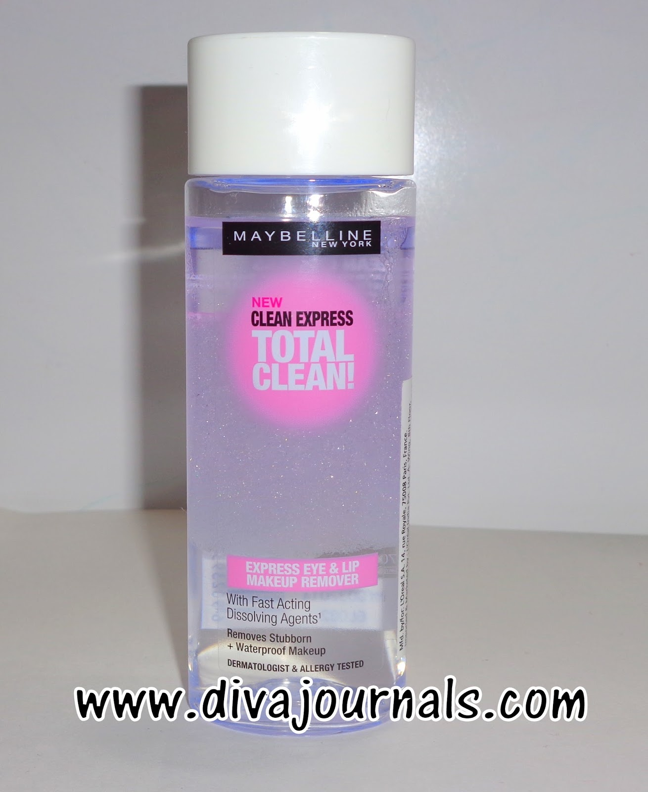 Maybelline Clean Express Total Clean Eye & Lip Make-up Remover Review