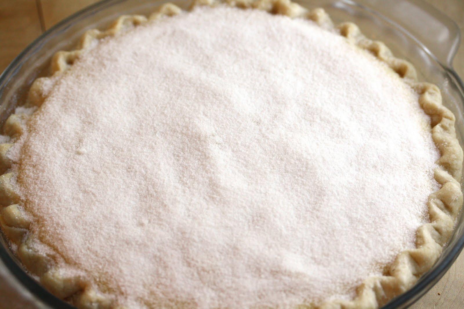 Pie No. 22 - Crème Brulee Pie - Saving Room for Dessert