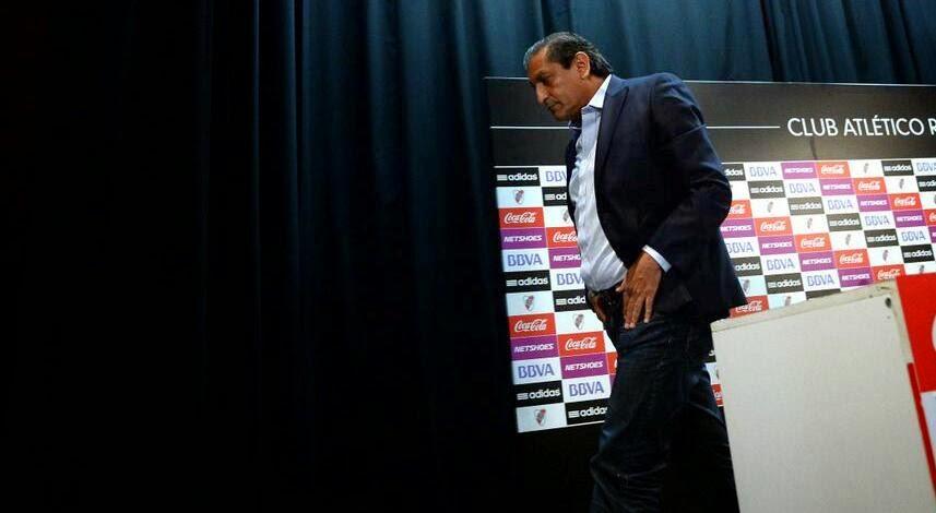 Ramón Díaz, Pelado Díaz, renuncia, River Plate, River, D'Onofrio, Rodolfo D'Onofrio, Campeón Torneo Final, Campeón, Francescoli,