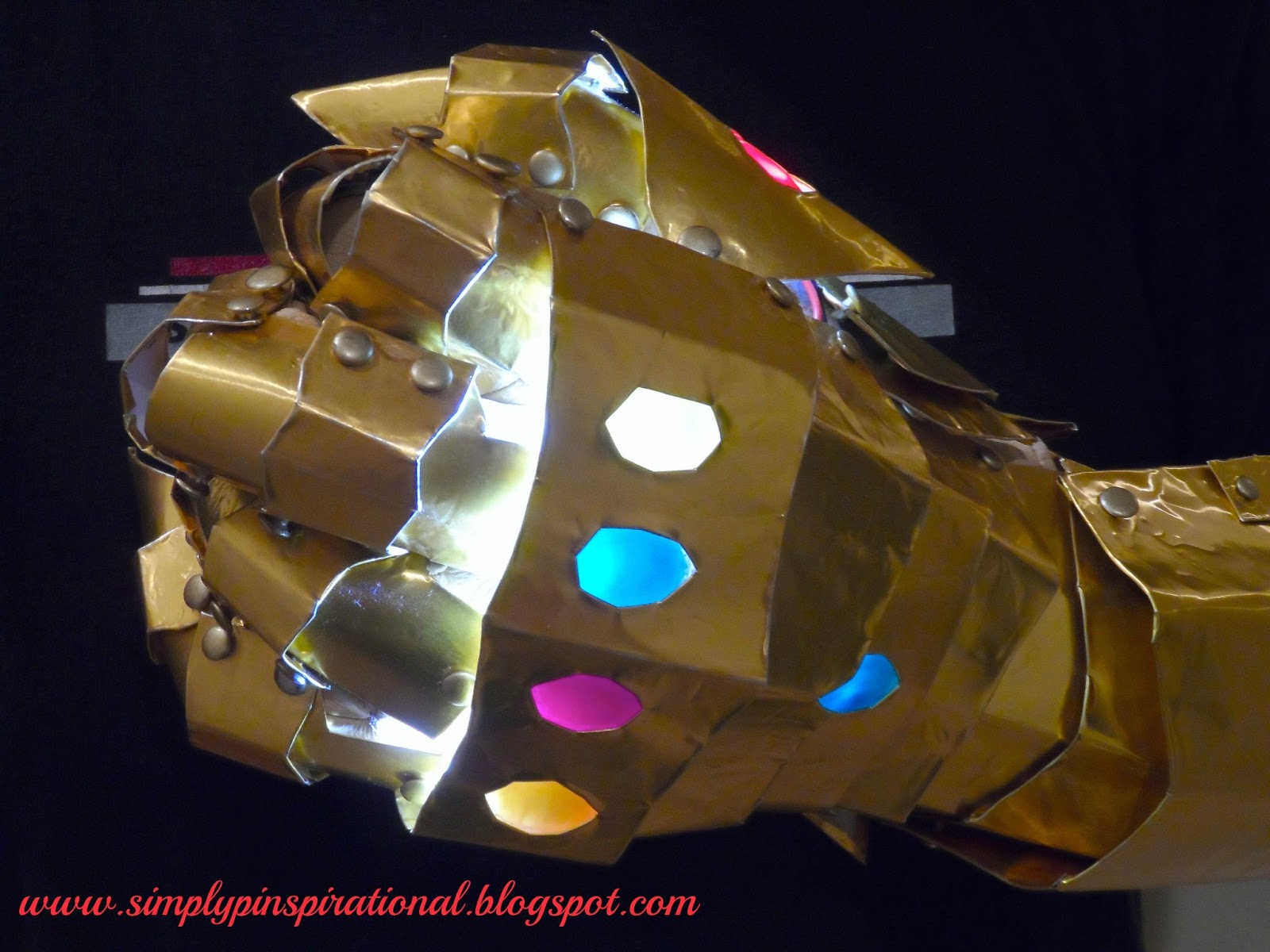 simply pinspirational infinity gauntlet assembly completion