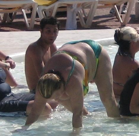 fat bathing suit