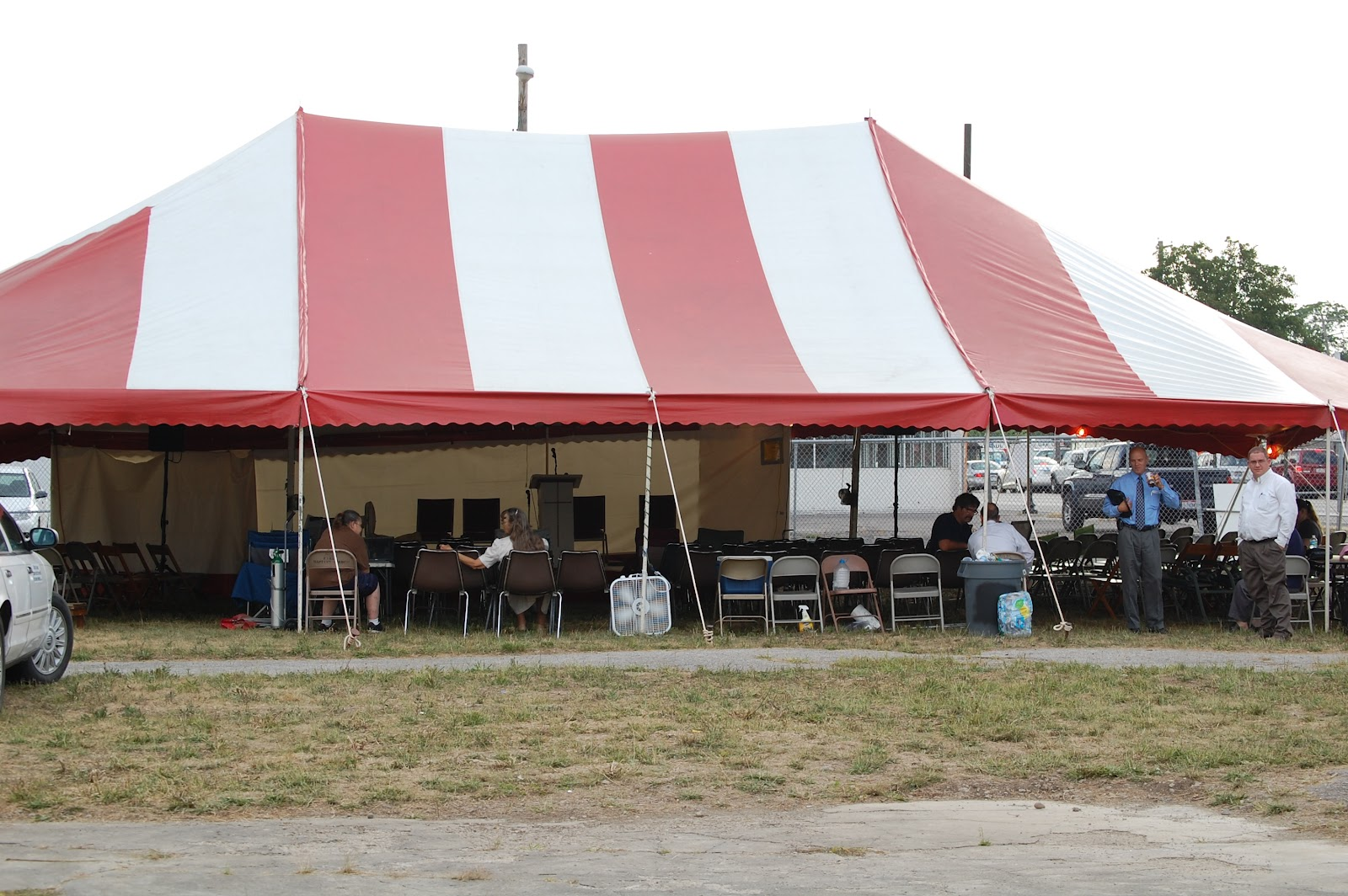The Old Gospel Tent On Broad Street In Columbus